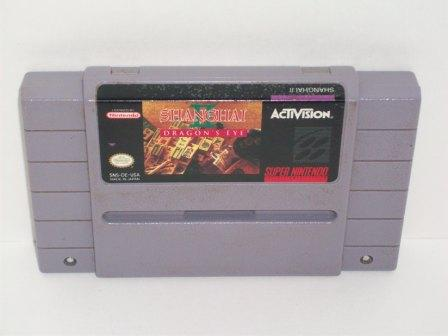 Shanghai 2: Dragons Eye - SNES Game